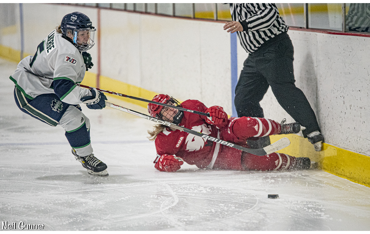 Hockey Image 18: player takes shot on net